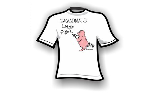 kids – Grandma's little piglet