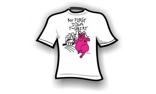 kids – my first iowa t-shirt
